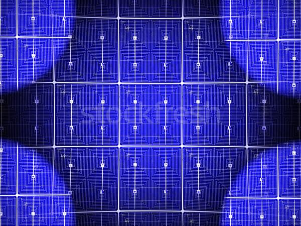solar cell Stock photo © njaj