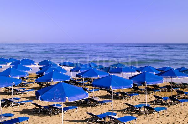 Plage mer vacances chaleur voyage Photo stock © njaj