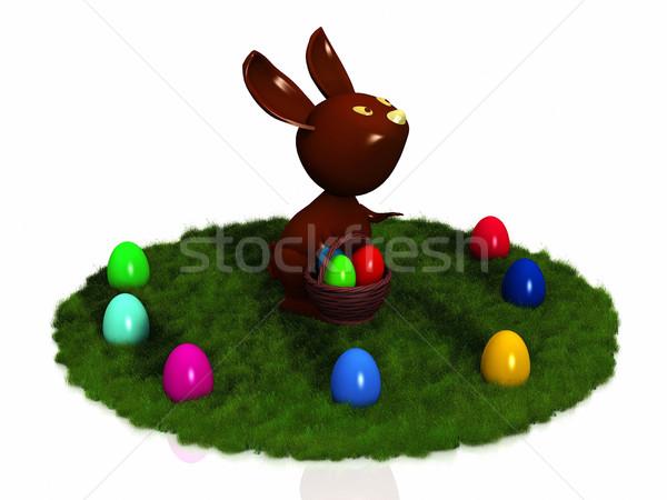 Eastern rabbit Stock photo © njaj