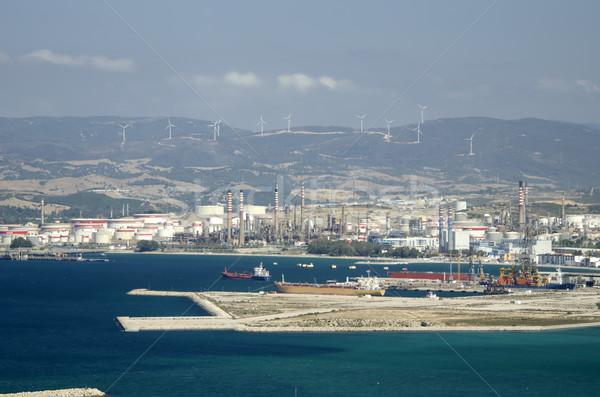 Gibraltar wody morza ocean dok portu Zdjęcia stock © njaj