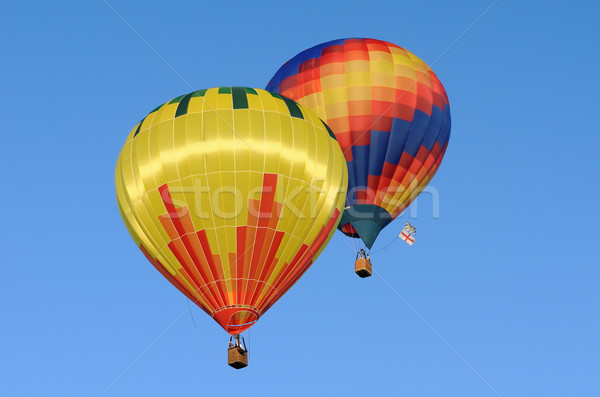 hot air balloon Stock photo © njaj