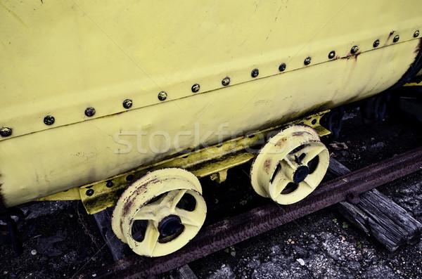 mining wagon Stock photo © njaj