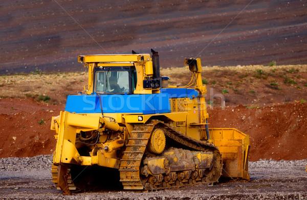 loader with caterpillar Stock photo © njaj