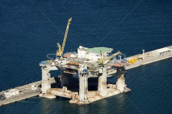 oil platform Stock photo © njaj