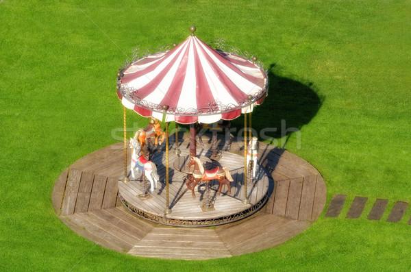 回転木馬 子供 幸せ 子 楽しい 再生 ストックフォト © njaj