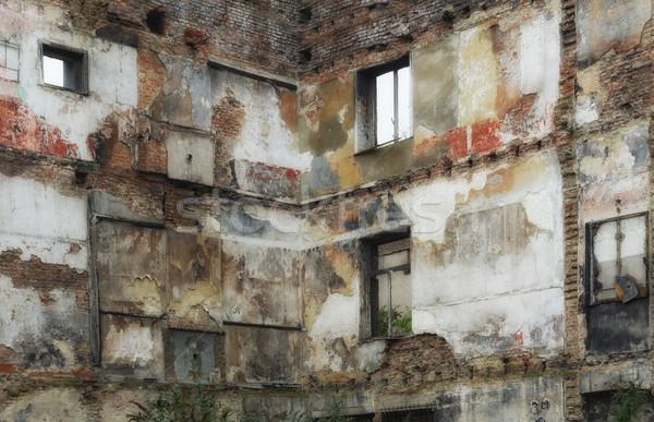 the demolished house Stock photo © njaj