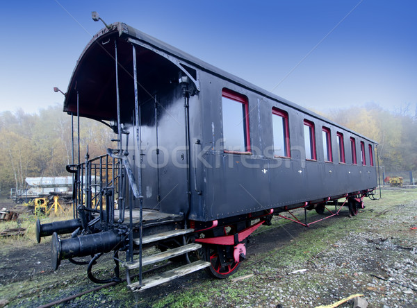 old wagon Stock photo © njaj