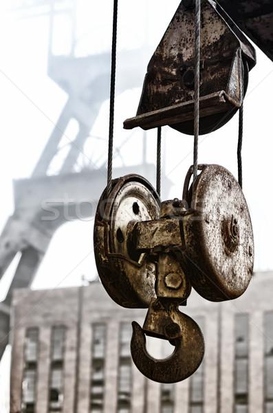 hoist and head frame Stock photo © njaj