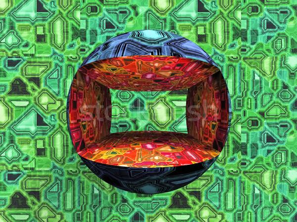 Balle résumé technologie communication pouvoir Photo stock © njaj