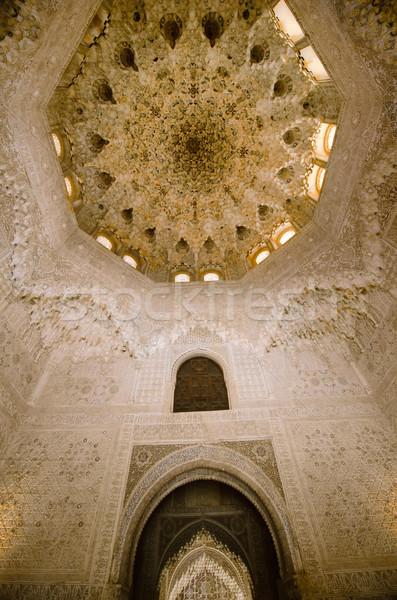 Alhambra utazás kastély történelem kultúra spanyol Stock fotó © njaj