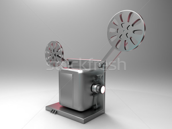 Film projector business frame studio grafische Stockfoto © njaj