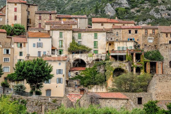 Roquebrun Stock photo © njaj