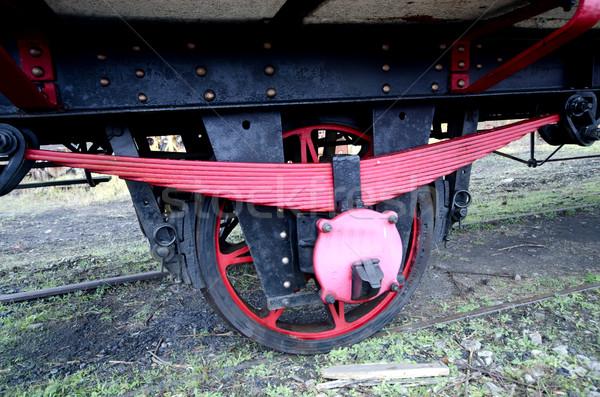 wagon axle Stock photo © njaj