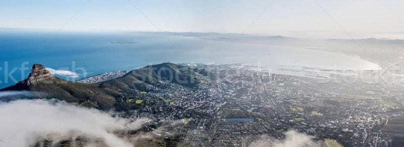 Le Cap Afrique du Sud ville montagne océan table Photo stock © njaj