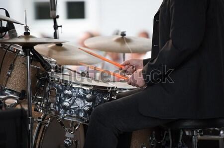 open air concert Stock photo © njaj