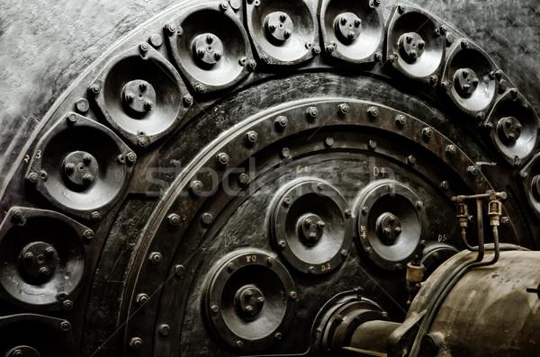 Endüstriyel makinalar Metal fabrika enerji güç Stok fotoğraf © njaj