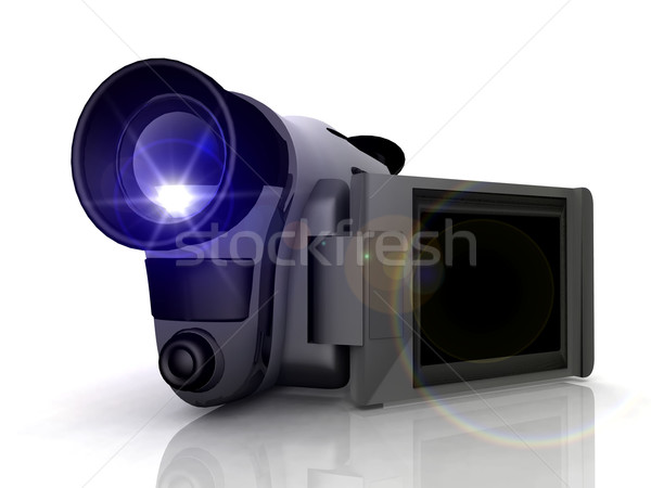 the camcorder Stock photo © njaj
