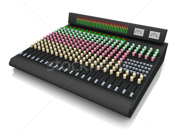 the sound board Stock photo © njaj