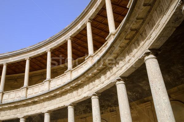 Palota Alhambra utazás kastély történelem kultúra Stock fotó © njaj