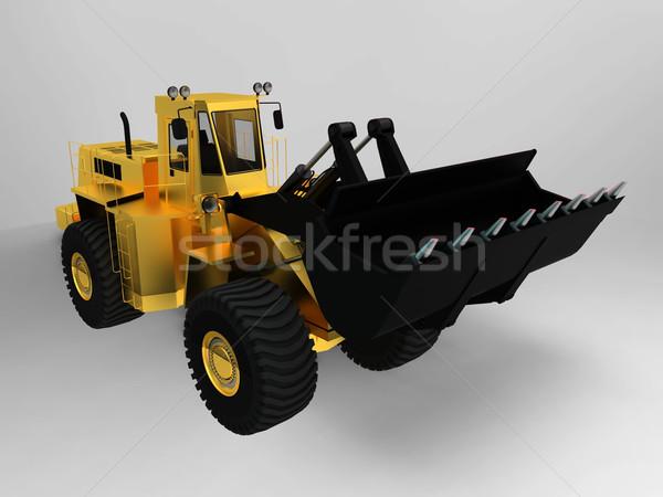 the bulldozer Stock photo © njaj