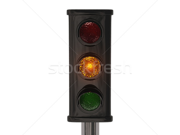 светофор автомобилей город улице знак скорости Сток-фото © njaj