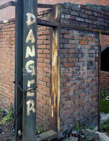 Kockázat ipari ugar üzlet munka fém Stock fotó © njaj