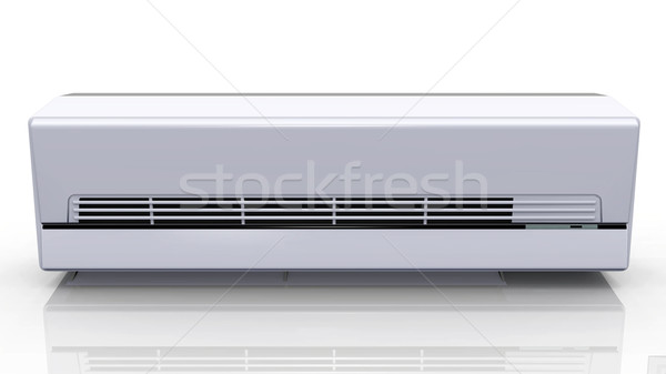 the air conditioner on a white background Stock photo © njaj