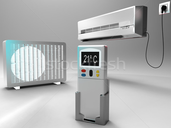 air conditioning system Stock photo © njaj