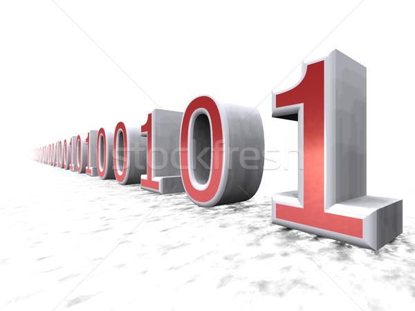 нулевой один бизнеса интернет аннотация данные Сток-фото © njaj