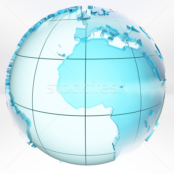 Terra céu ciência planeta ambiente solar Foto stock © njaj