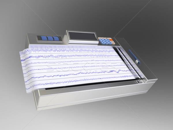 the electrocardiogram Stock photo © njaj