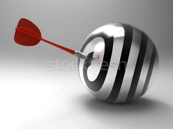 the target and the dart Stock photo © njaj