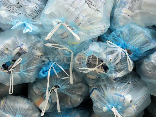 garbage bags and wastes Stock photo © njaj