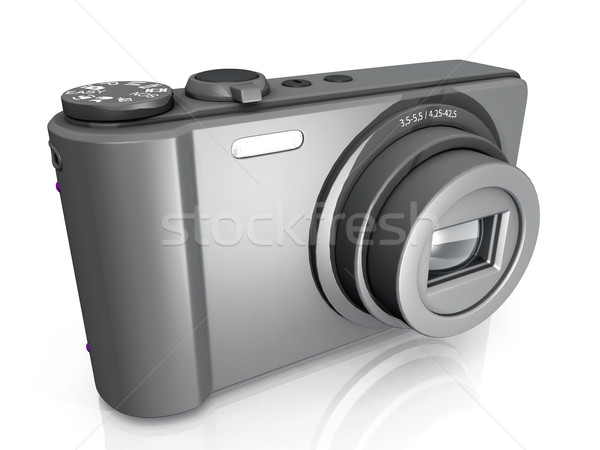 compact  camera on a white background Stock photo © njaj