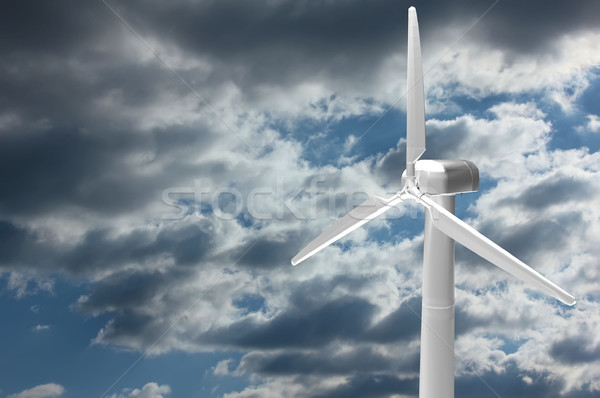 wind turbine Stock photo © njaj