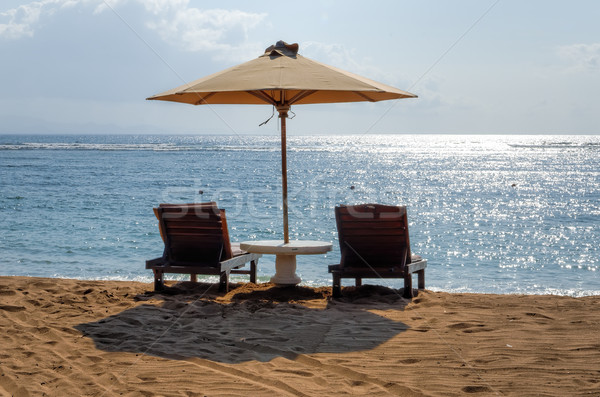 Bali spiagge cielo sole panorama estate Foto d'archivio © njaj