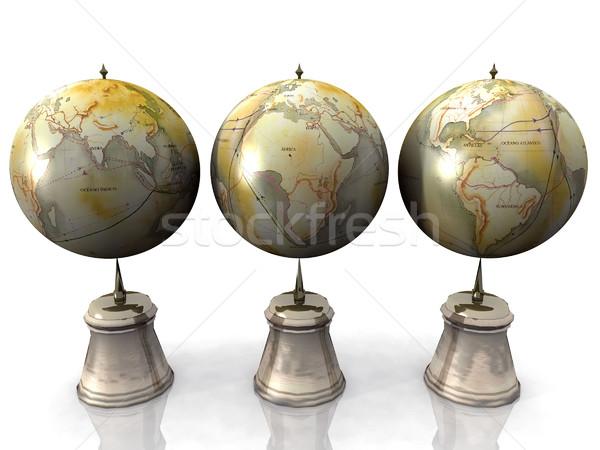 地球 空 世界 旅行 惑星 夢 ストックフォト © njaj
