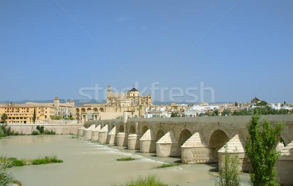 ストックフォト: ローマ · 橋 · 風景 · 旅行 · 川 · ヨーロッパ