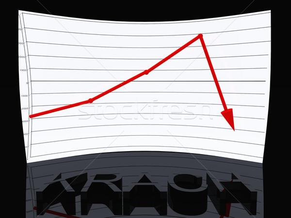 stock market crash Stock photo © njaj