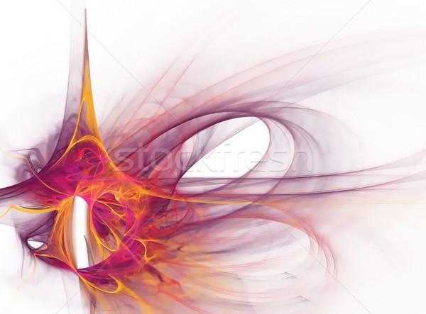 Színes formák hajlatok terv stílus vonalak Stock fotó © njaj