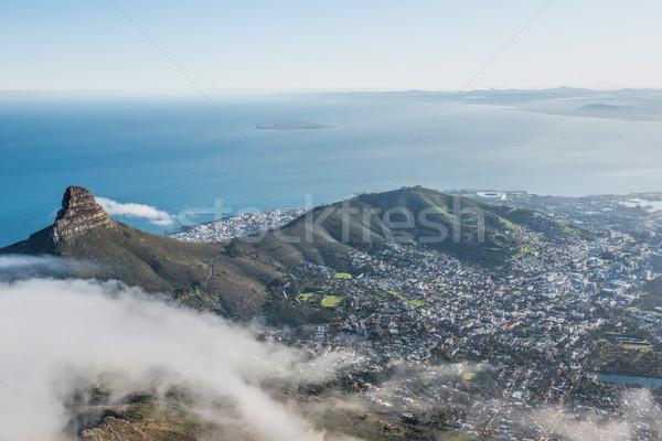 Кейптаун ЮАР город горные океана таблице Сток-фото © njaj