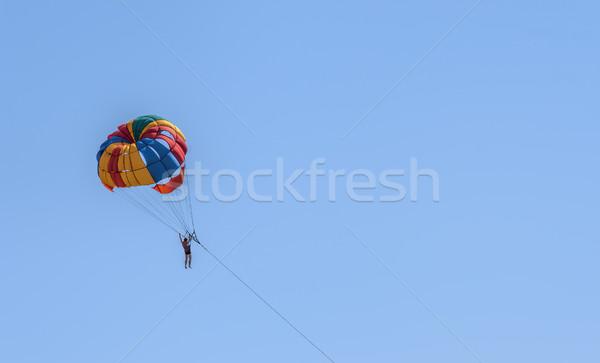 parasailing Stock photo © njaj