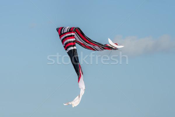 Kite bali cielo estate blu giocattolo Foto d'archivio © njaj