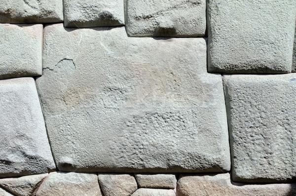 Pedra 12 construção parede arquitetura estrutura Foto stock © njaj