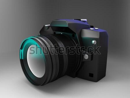 Refleks kamera ekran fotoğraf profesyonel resim Stok fotoğraf © njaj