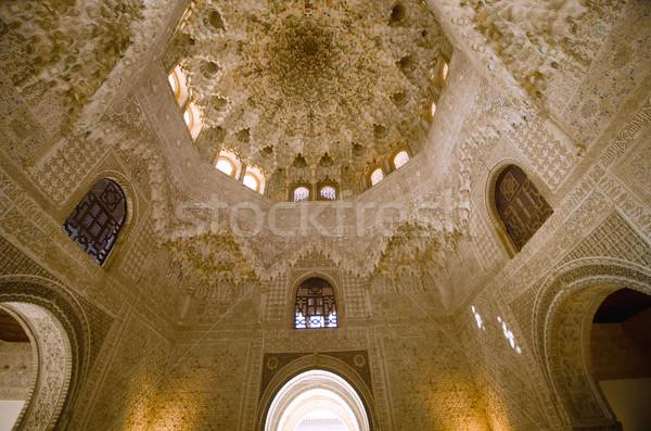 Alhambra seyahat kale tarih kültür İspanyolca Stok fotoğraf © njaj