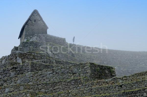 Machu Picchu şehir seyahat taş mimari tarih Stok fotoğraf © njaj