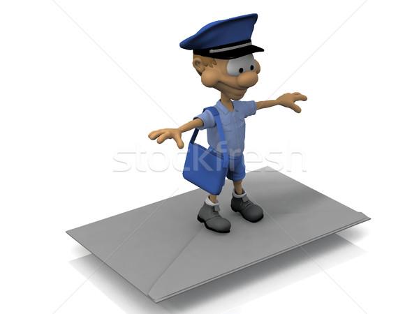 Posta faktör mektup hizmet Stok fotoğraf © njaj