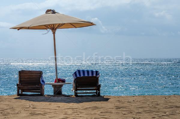 Bali praias praia água paisagem mar Foto stock © njaj