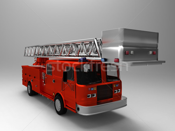 the  fire truck Stock photo © njaj